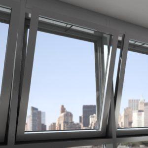 okna w fasadzie