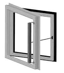 okno rozwierne
