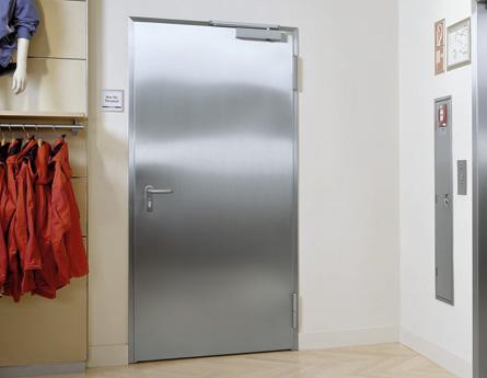 Drzwi techniczne - zastosowania